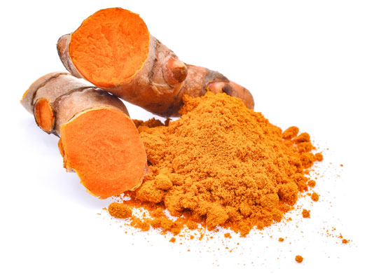Turmeric root and powdered Turmeric