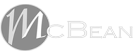 McBean grayscale logo