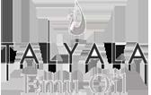 Talyala grayscale logo
