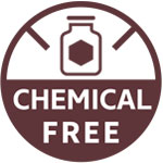 Chemical free icon
