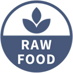 Raw food icon