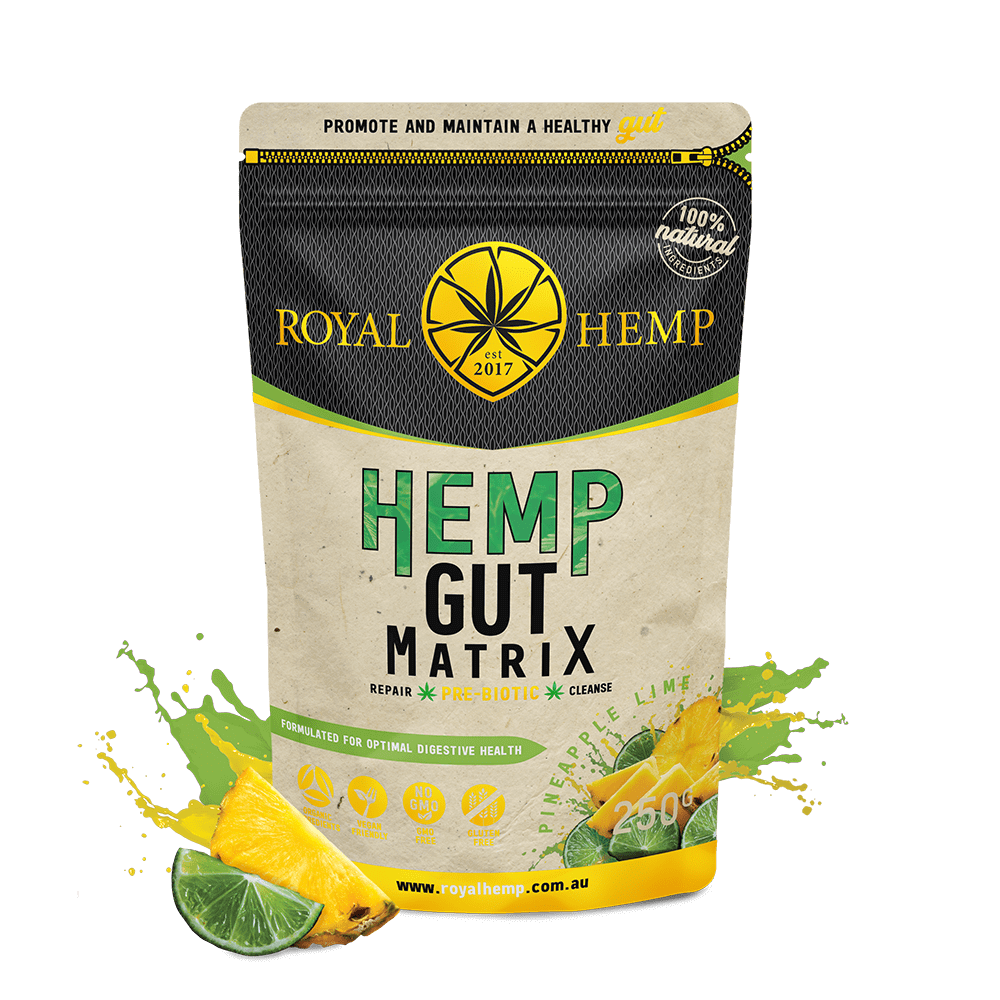 Hemp Gut Matrix – Pineapple Lime 250g
