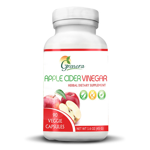 Apple Cider Vinegar (90 veggie capsules) 550mg per capsule