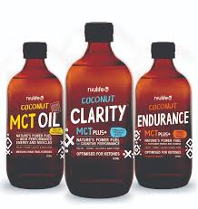 Coconut Clarity MCT Plus+ - 500ml Glass Bottle (cocnut oils)