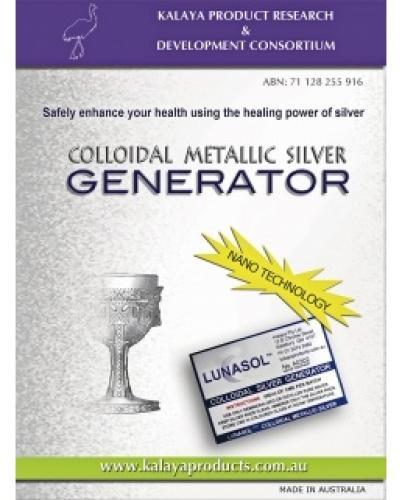 Blue Light Colloidal Metallic Silver Generator