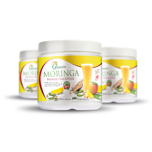 Superfood Moringa Mango Smoothie 350g