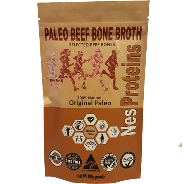 Original Paleo Beef Bone Broth Powder (100g)