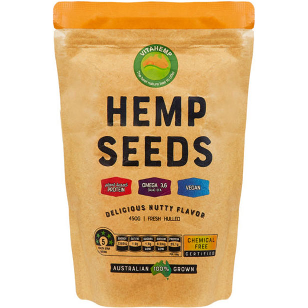 Vitahemp hemp seeds 450g