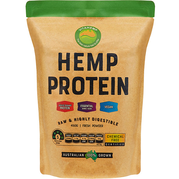Vitahemp hemp protein powder 450g