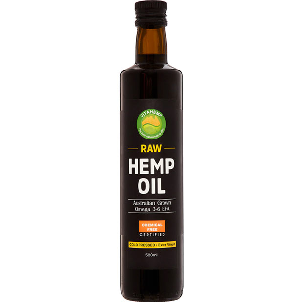 Vitahemp Hemp Seed Oil 250ml bottle