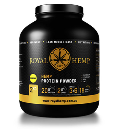 Royal Hemp protein supplement