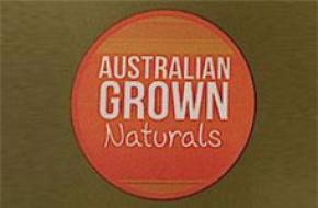 Australian Grown Naturals logo