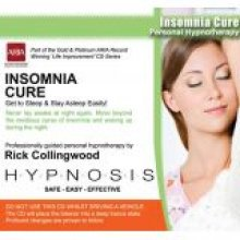 Insomnia Cure Hypnosis CD - Rick Collingwood