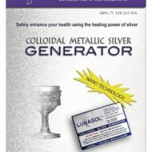 Blue Light Colloidal Metallic Silver Generator