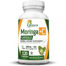 Moringa +C w/ Amla Herbal Capsules (120 caps)