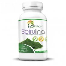 Spirulina Herbal Dietary supplements 120 Veggies capsules