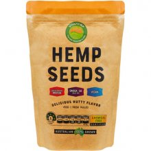 VitaHemp Hulled Hemp Seeds packaging (450g / 900g)